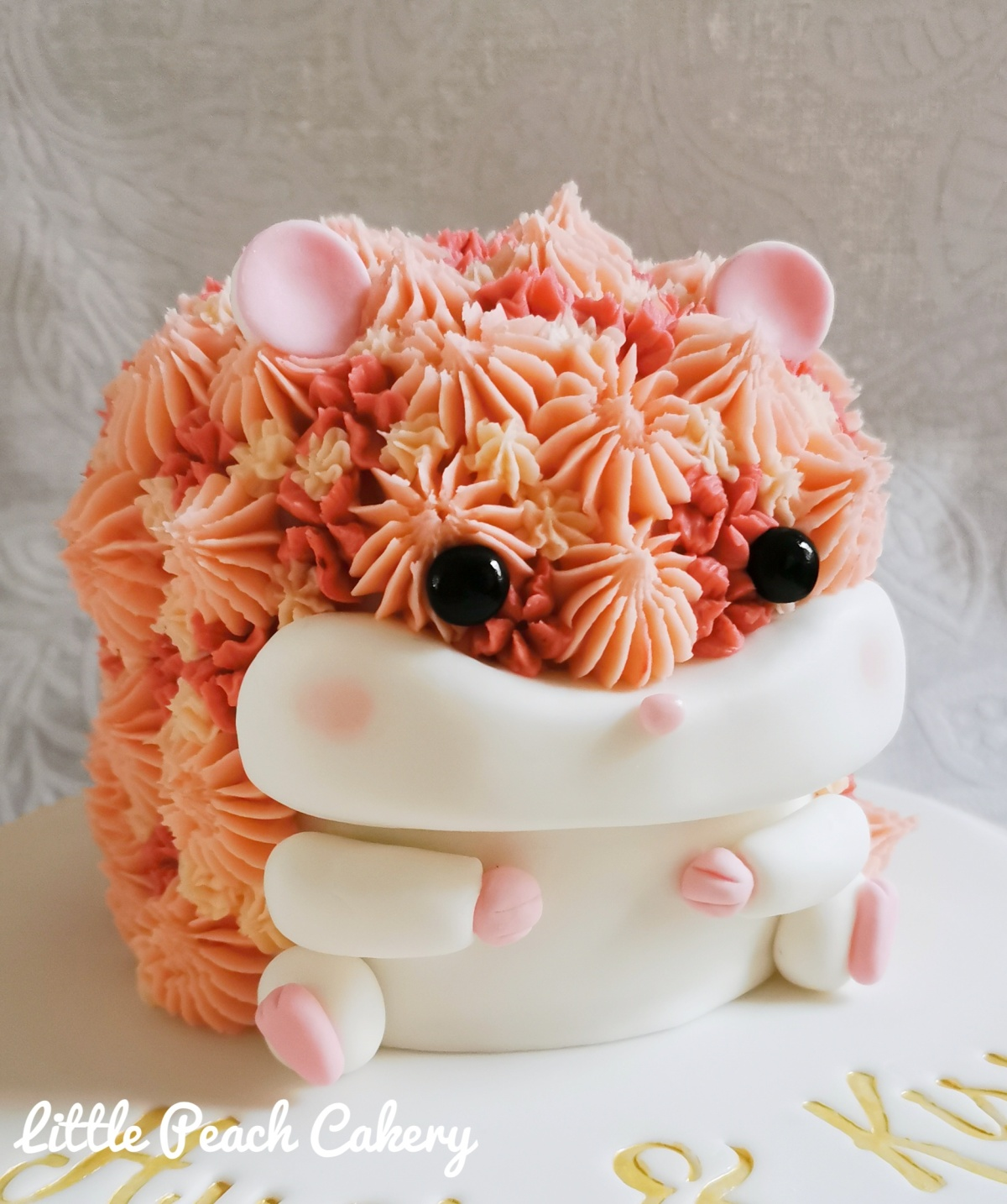 Cute Hamster Cake Tutorial